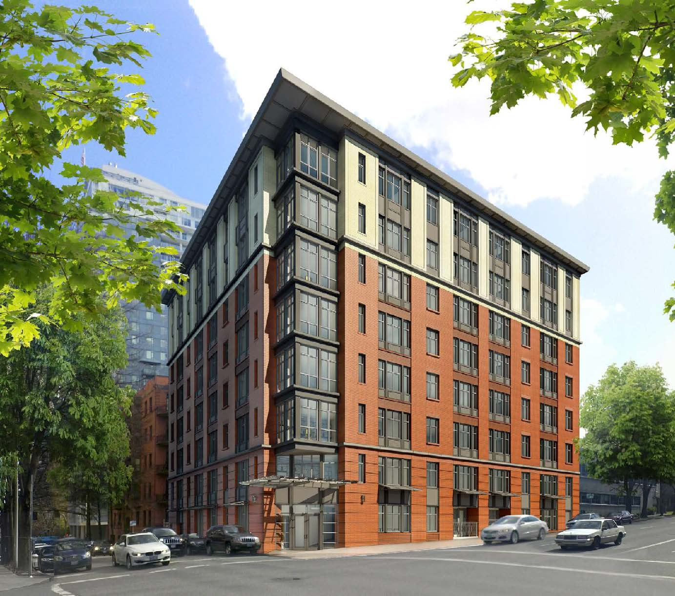 Cheap Apartments Outside Bricks: Under Construction: 12th & Clay Apartments (images)