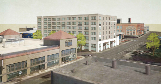 915 SE Belmont, as proposed in 2013