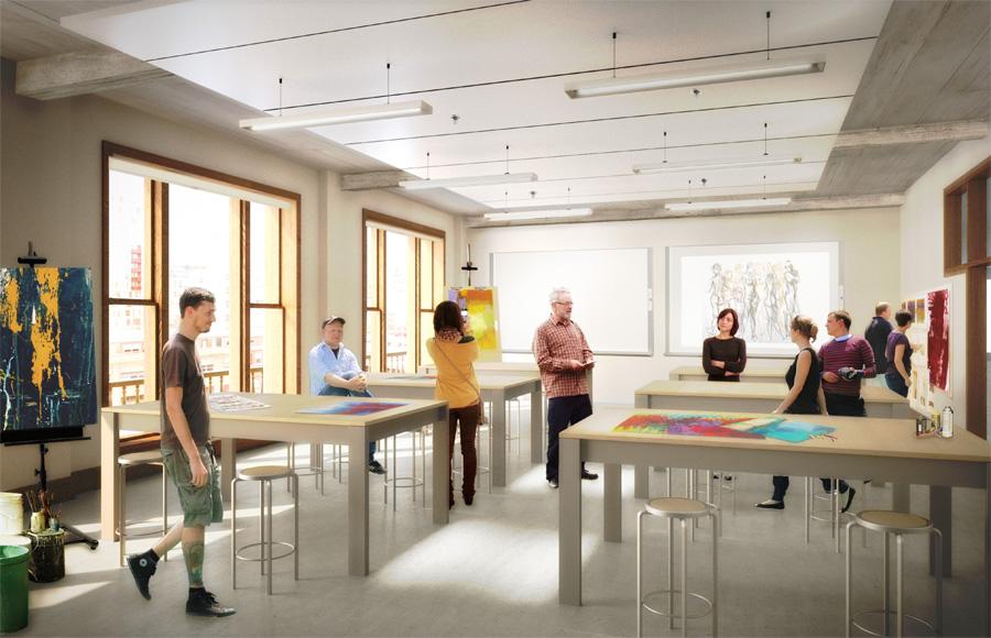 Virtual Classroom Architecture Design ~ Pnca building images next portland