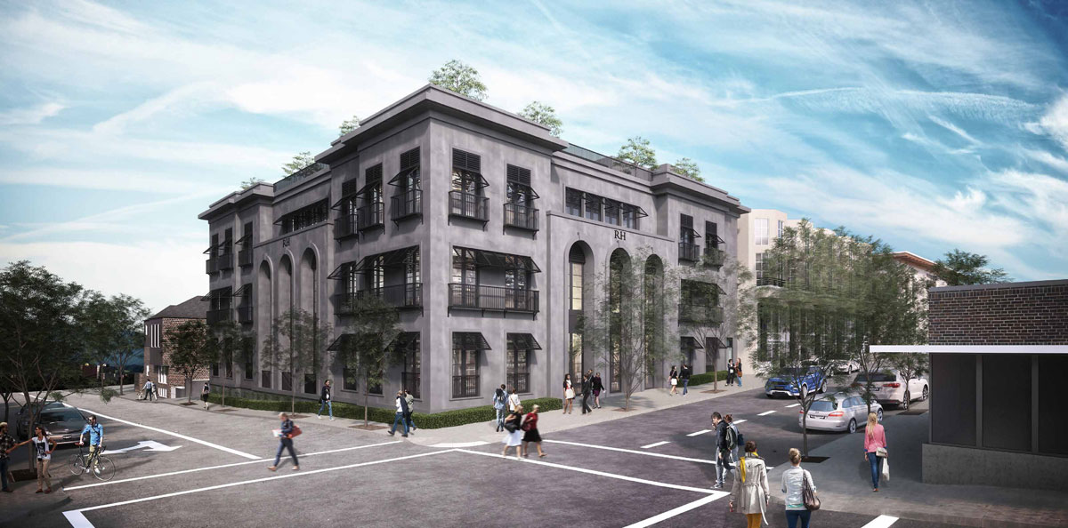 New Restoration Hardware Proposed For Nw 23rd Ave Images