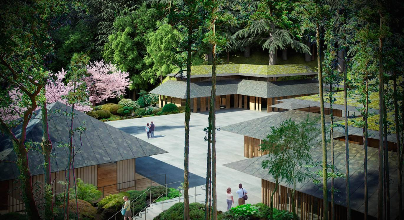 Japanese Garden Releases Details Of Kengo Kuma Designed Expansion