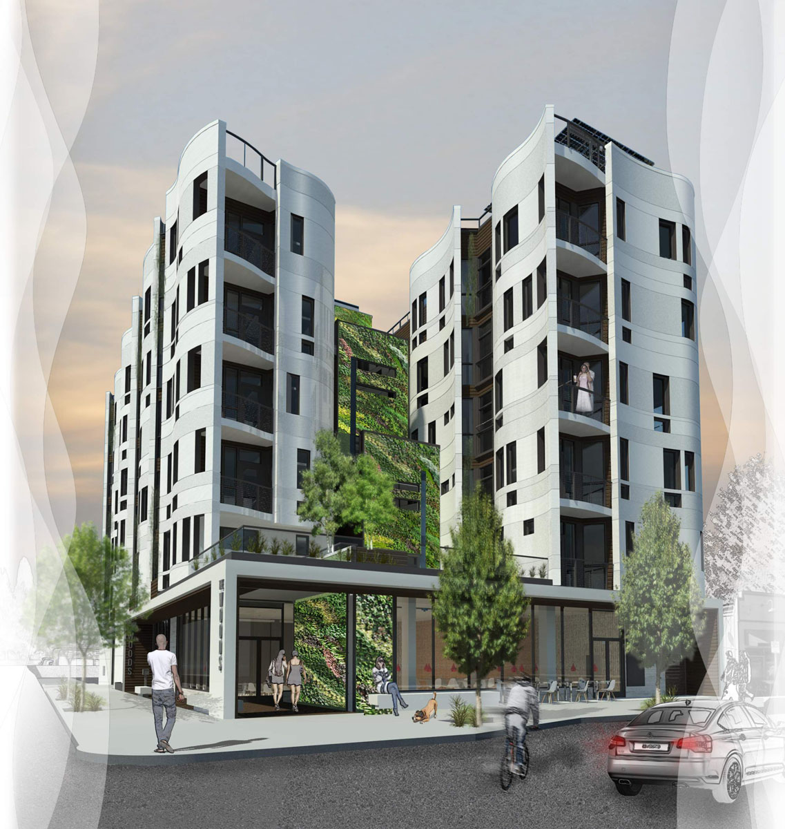 Apartment Block: The Woods Returns Before The Design Commission (images