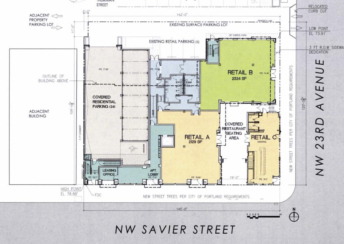 Apartment Floor Plans Dwg george besaw apartments archives - next portland