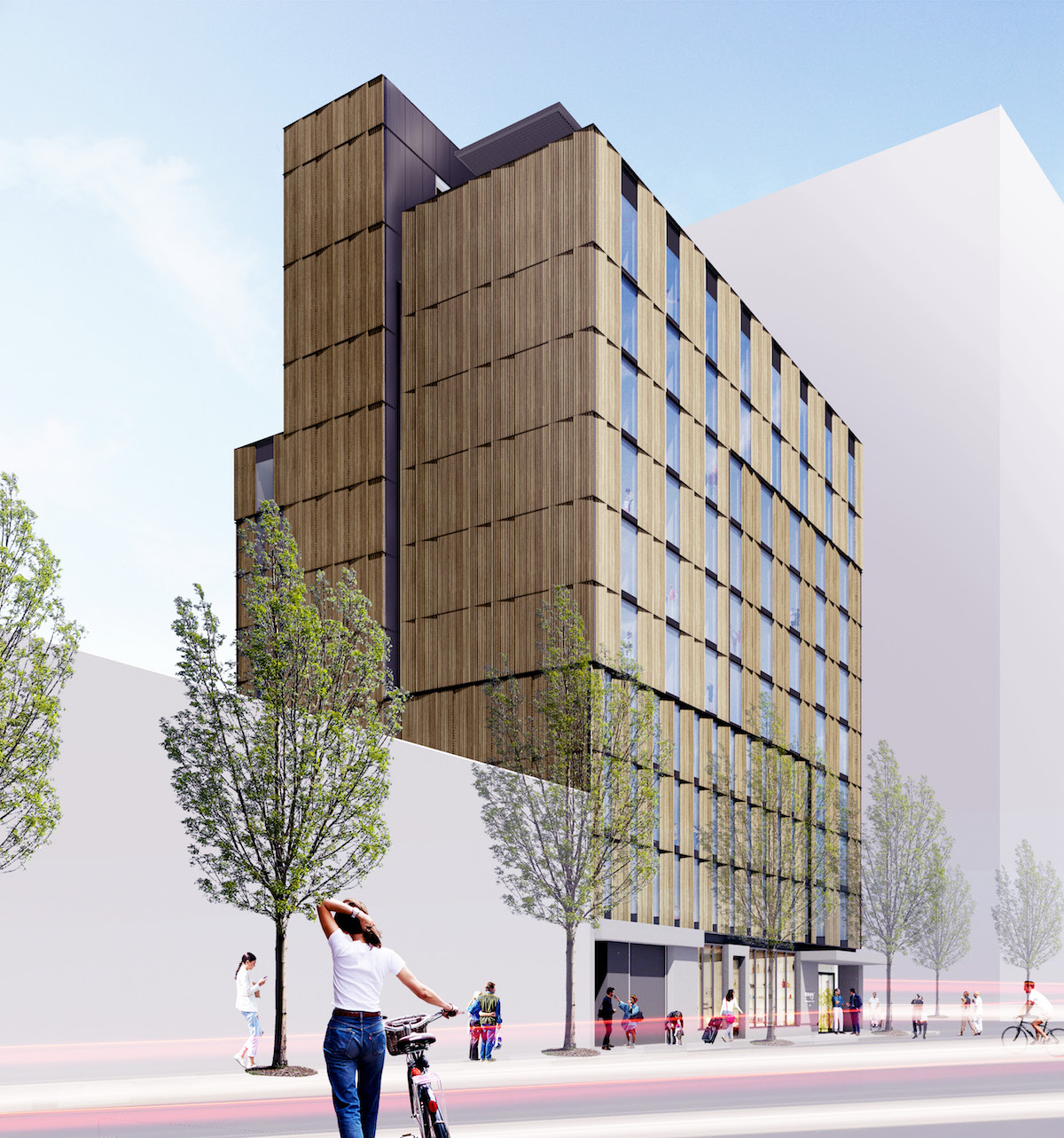 A building permit was issued for the Canopy Hotel in the Pearl by ZGF Architects & Metro Reports: Canopy Hotel Con-way Blocks 294E and 295E ...