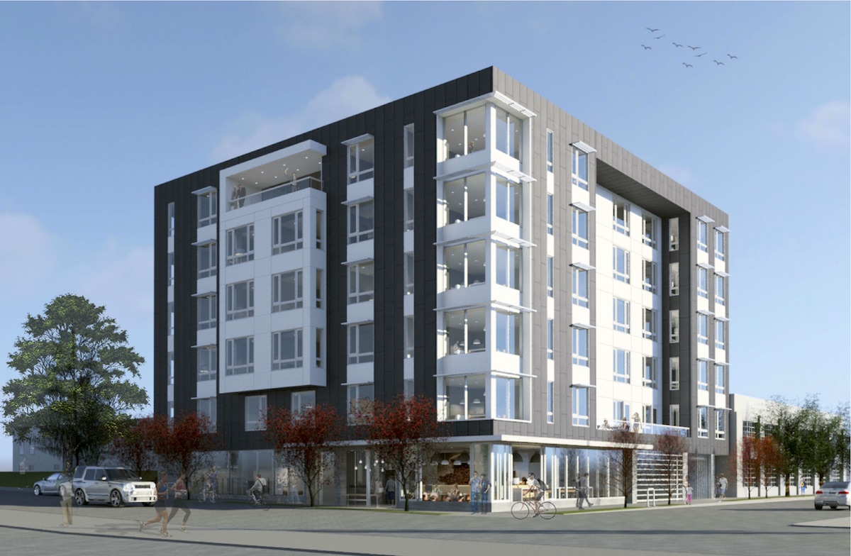 Apartment at ne 20th and hoyt goes before design for Apartment design and development ltd