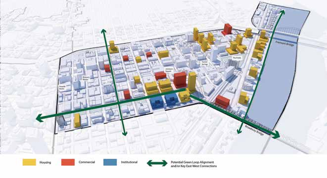 Image from the Discussion Draft of the Central City 2035 Plan (Bureau of Planning & Sustainability).