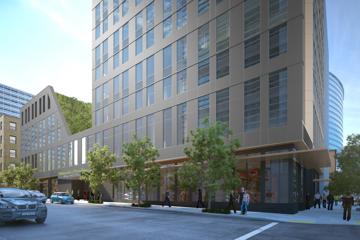 3rd & salmon hotel tower approved (images) - next portland