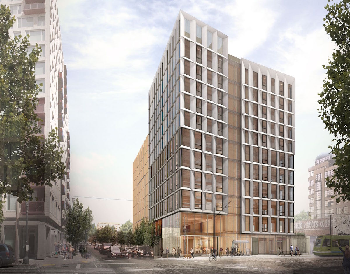 Design Reviewed For High Rise Timber Building Framework