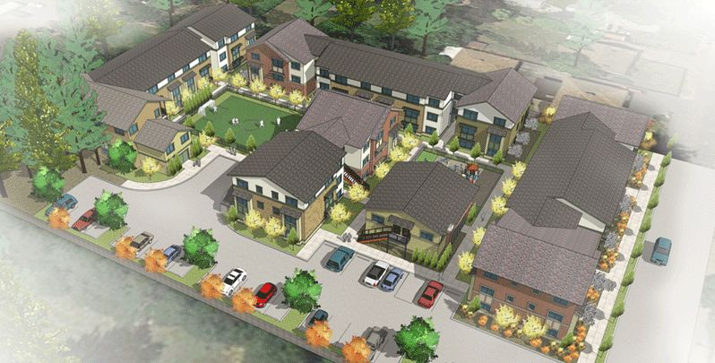 The 154 new affordable housing units planned at 121 SE 146th Ave