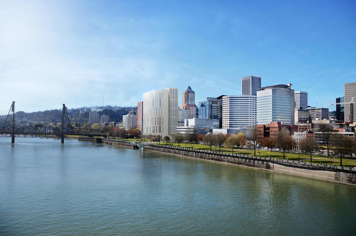 Landmarks Commission approves Multnomah County Central