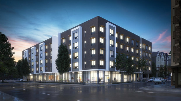 The Beatrice Morrow Apartments Will Include 80 Affordable Housing Units Offered Under City S Preference Policy To Those Displaced From N Ne Portland