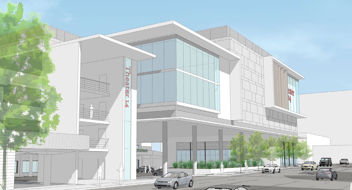 Lloyd center theater addition receives design advice for Exterior standalone retail