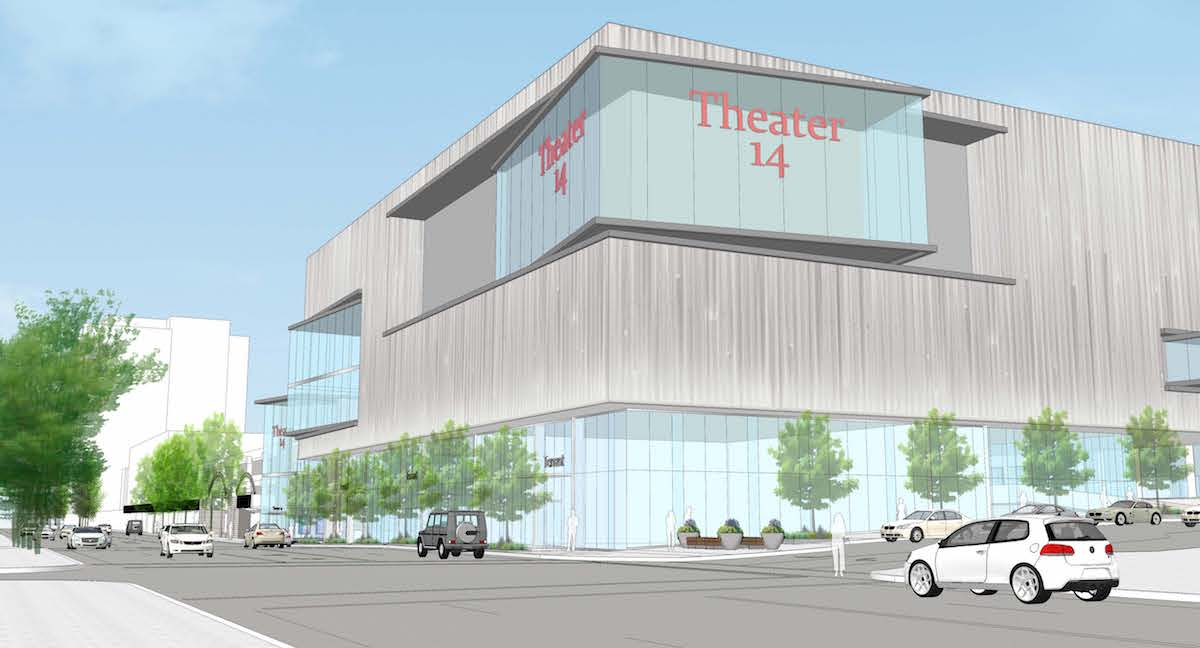 Lloyd Center Theater Addition