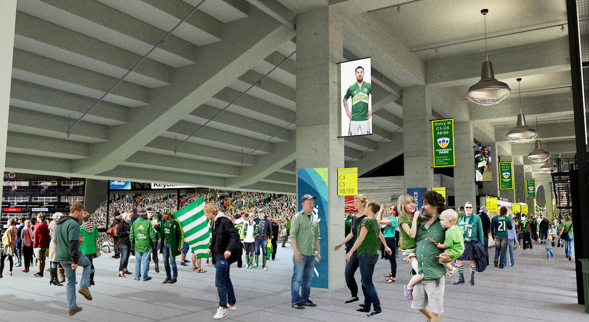 Providence Park Expansion Approved (images) - Next Portland