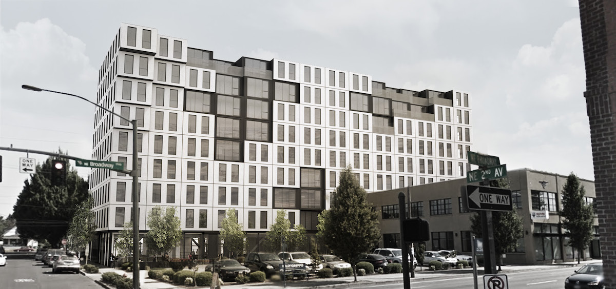 Modular Building at 1732 NE 2nd Ave Approved (images) - Next Portland