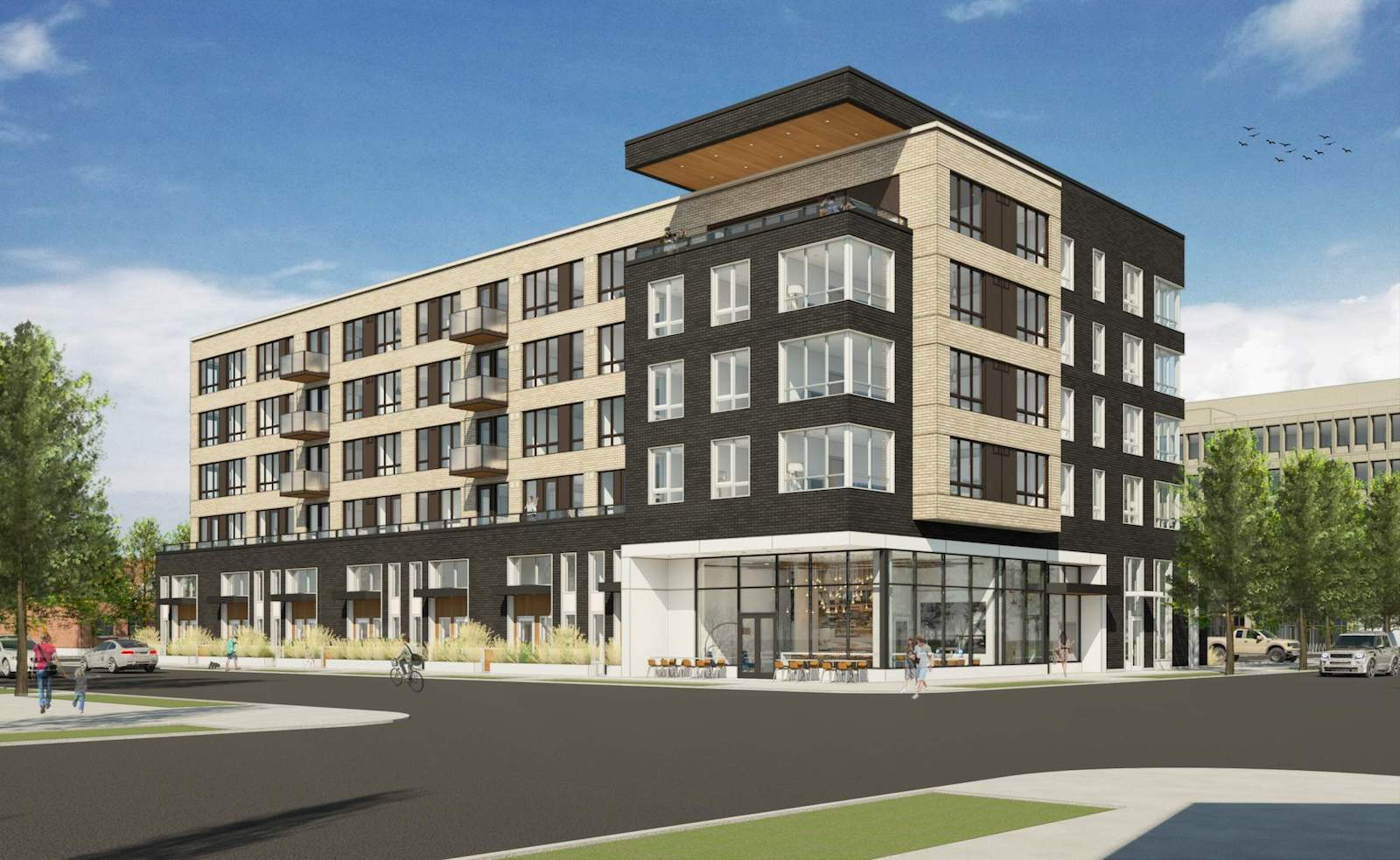 Next portland architecture and development in pdx for Retail apartment plans