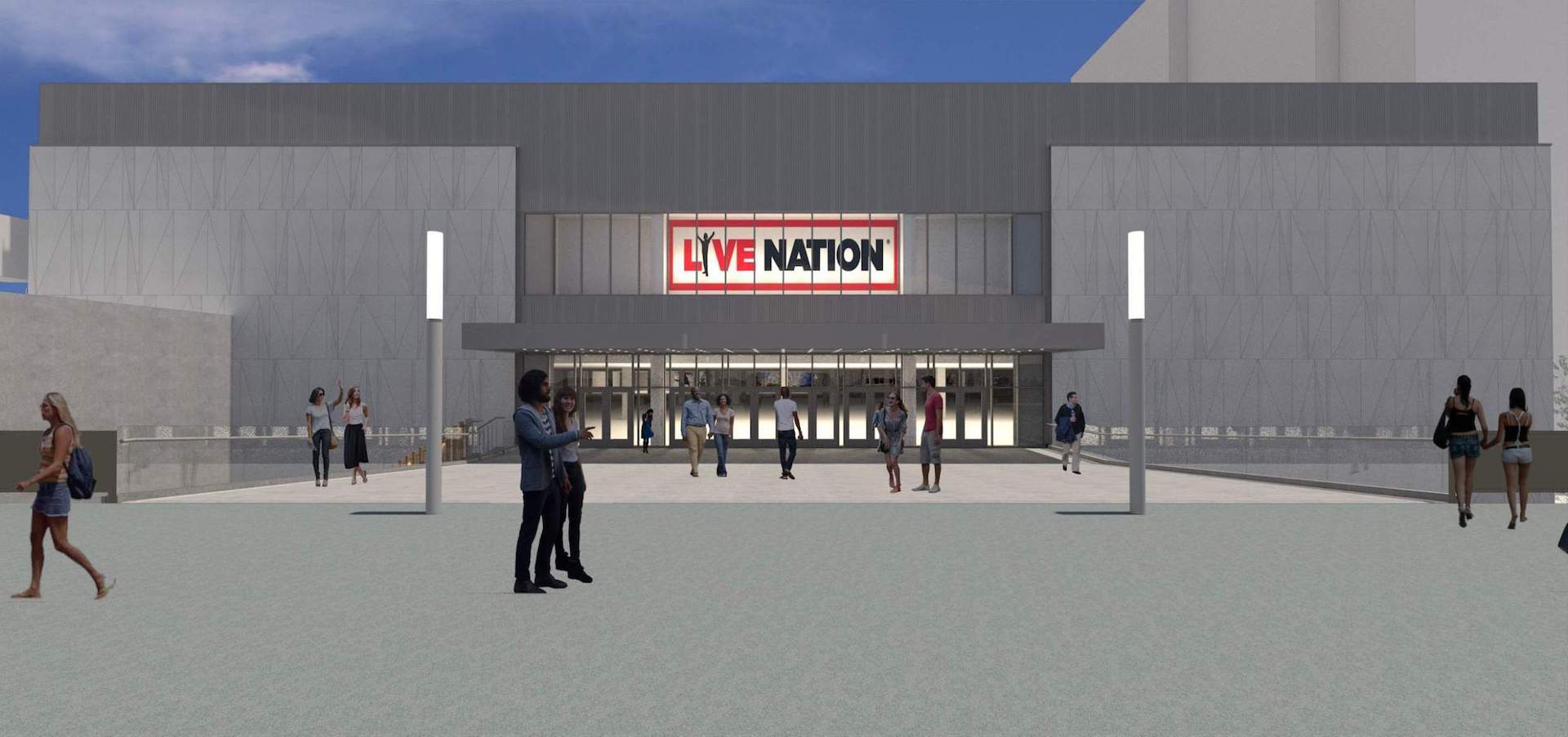 Lloyd Center West Anchor Remodel - Live Nation