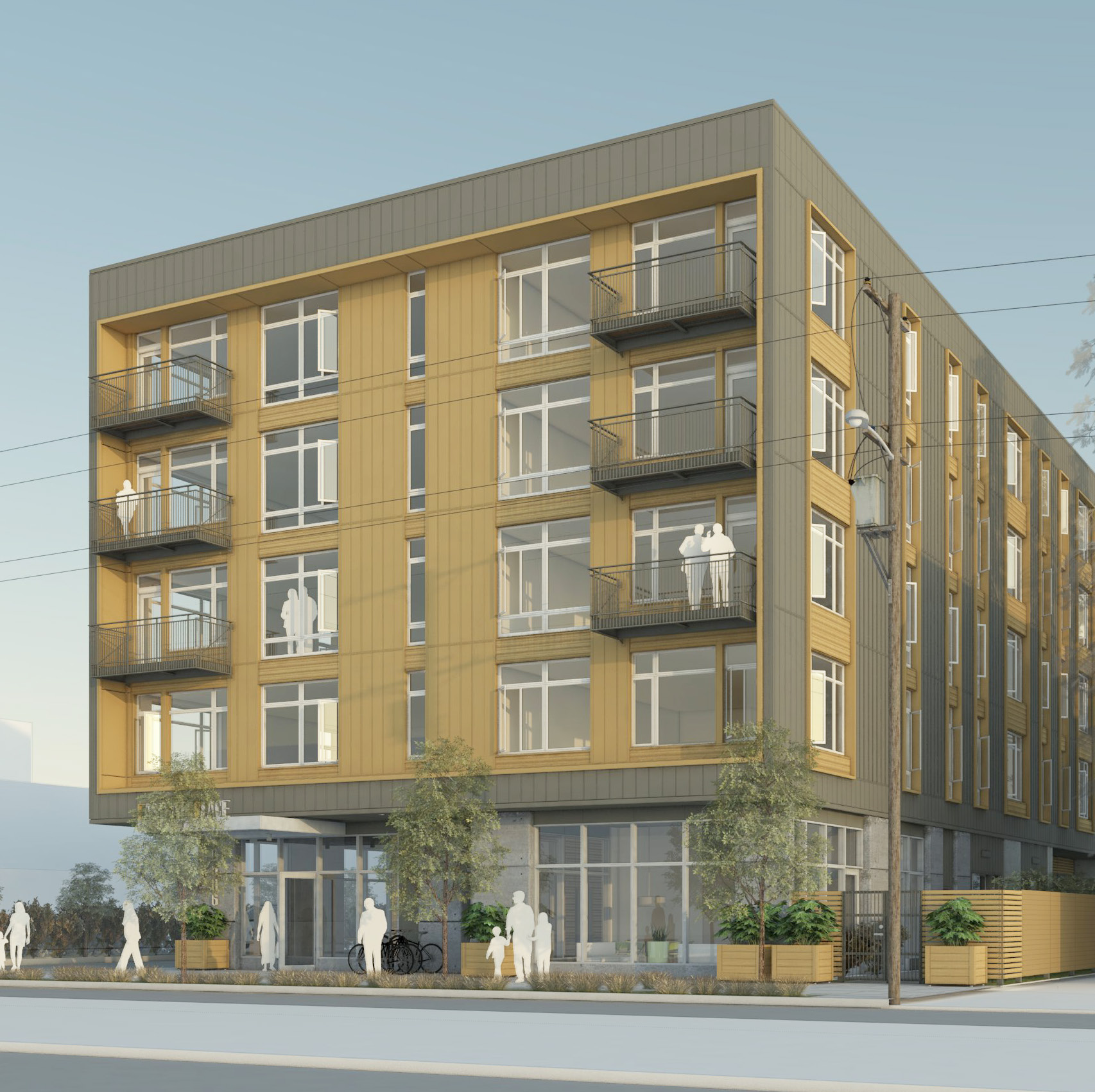 Gateway Place Apartments: Apartments On Outer East Burnside Approved By Design