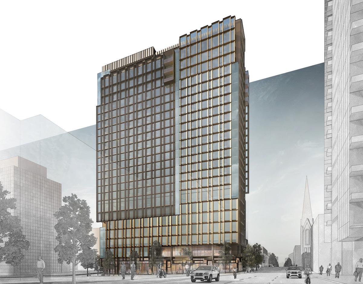 Pdx Long Term Parking >> Design Commission Approves Eleven West (Images) - Next ...