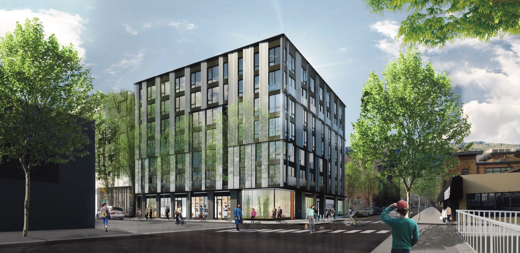 Pdx Long Term Parking >> Design Commission Approves Building at NW 19th ...