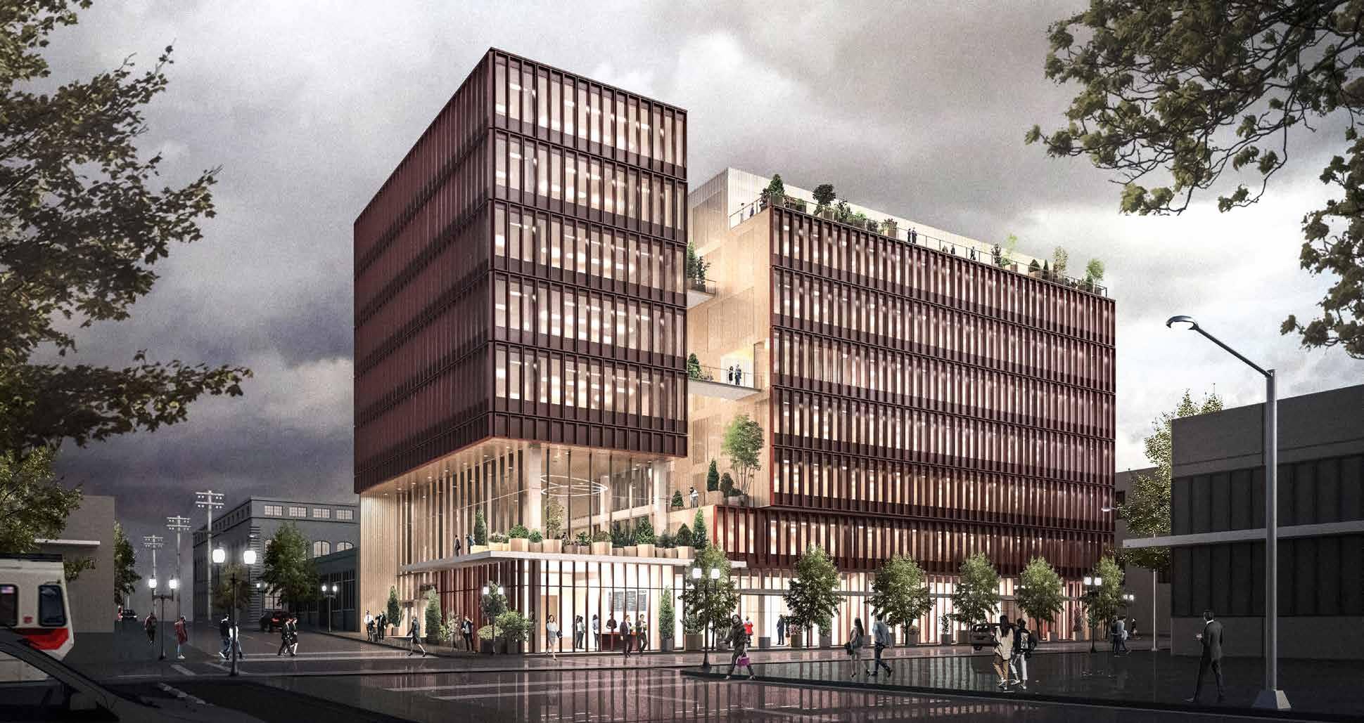 Platform Office Building Receives Design Advice (images ...