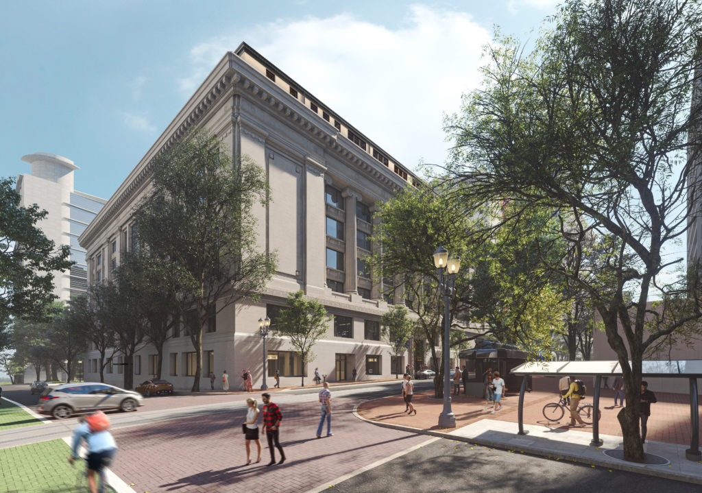 Multnomah County Courthouse Reuse
